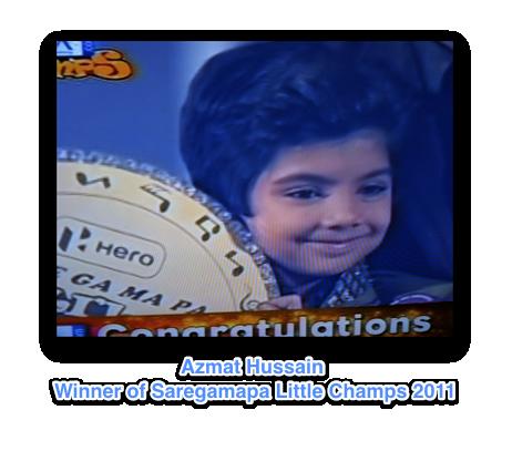 Azmat Hussain - winner!